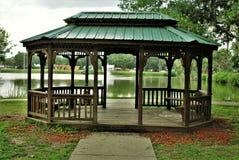 Patterson Park i fortet Meade Florida Arkivbild