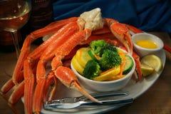 pattes de crabe Photographie stock libre de droits