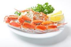 Pattes de crabe Photo libre de droits