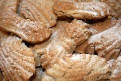Pattes de gâteaux de vacances image stock
