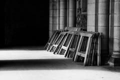 Pattes de penchement de table Photo stock