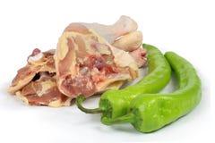 Pattes de Pepperãchicken Photos libres de droits