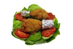 Pattes de poulet Photographie stock