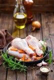 Pattes de poulet Image stock