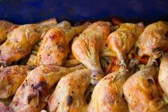 Pattes de poulet cuites au four images stock
