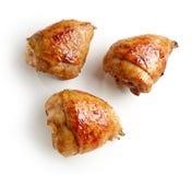 Pattes de poulet grillées photos stock