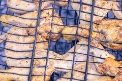 Pattes de poulet grillées Image libre de droits