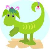 Pattes du dragon deux illustration stock