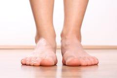 Pattes humaines, progression de pied Images libres de droits