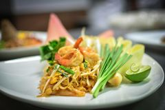 Patthai Royalty Free Stock Photography