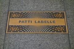 Patti LaBelle Plaque Stock Photo