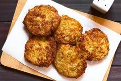 Patties ή Fritters ρυζιού στοκ φωτογραφίες
