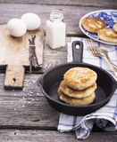 Patties of rice Royalty Free Stock Photography