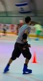Pattinaggio su ghiaccio Fotografie Stock Libere da Diritti
