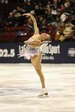 Pattinatore di ghiaccio del campione dell'italiano della Carolina Kostner 2011 Immagini Stock