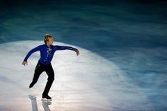 Pattinatore di ghiaccio Evgeni Plushenko Fotografia Stock Libera da Diritti