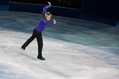 Pattinatore di ghiaccio Evgeni Plushenko Fotografie Stock
