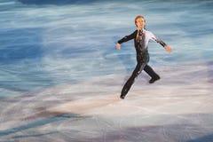 Pattinatore di ghiaccio Evgeni Plushenko Immagini Stock