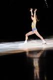 Pattinatore di ghiaccio finlandese Laura Lepisto Immagini Stock Libere da Diritti