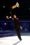 Pattinatori di ghiaccio Tatiana Totmianina & massimo Marinin Fotografia Stock Libera da Diritti