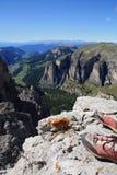 Pattini della montagna immagine stock