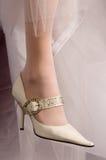 Pattini della sposa. Fotografie Stock