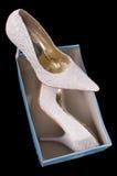 Pattini della sposa. Fotografia Stock Libera da Diritti