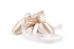 Pattini di balletto Immagine Stock