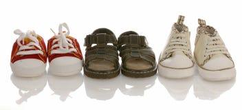 Pattini di bambino o dell'infante Immagini Stock Libere da Diritti