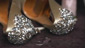Pattini di cerimonia nuziale per la sposa archivi video
