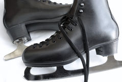 Pattini di ghiaccio Fotografie Stock Libere da Diritti