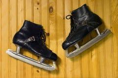 Pattini di ghiaccio Fotografia Stock