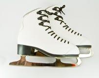 Pattini di ghiaccio Immagine Stock