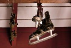 Pattini di ghiaccio Fotografia Stock Libera da Diritti