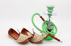 Pattini e tubo di acqua arabi Fotografia Stock Libera da Diritti