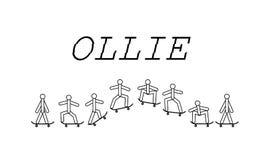 Pattino di trucco di Ollie Immagini Stock