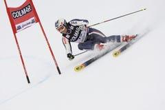 PATTINO: Slalom alpino del gigante del Alta Badia della tazza di mondo del pattino Immagine Stock Libera da Diritti
