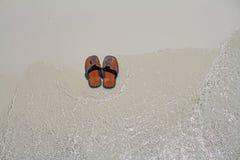 Pattino sulla spiaggia Immagini Stock