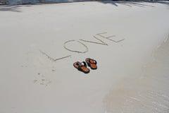 Pattino sulla spiaggia Immagine Stock