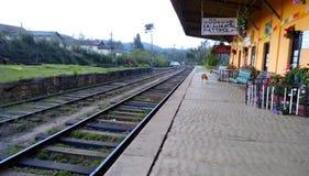 Pattipola stacja Sri Lanka Obrazy Stock