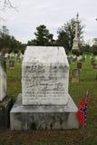 Patton braci grób, Pionowo widok, Winchester, Virginia zdjęcie stock