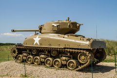 Patton tank Royalty Free Stock Photo