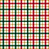 Pattrn de la tela escocesa Foto de archivo