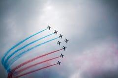 Pattruille de France photographie stock libre de droits