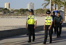 Pattuglia 035 della polizia Fotografia Stock