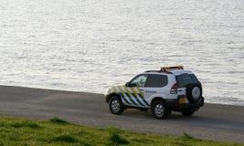 Pattuglia di frontiera di Den Helder immagine stock libera da diritti