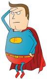 Pattuglia grassa dell'eroe eccellente illustrazione vettoriale