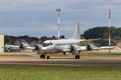 Pattuglia tedesca di Deutsche Marine Lockheed P-3C Orion Maritime della marina ed anti aerei sottomarini di guerra immagini stock