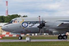 Pattuglia tedesca di Deutsche Marine Lockheed P-3C Orion Maritime della marina ed anti aerei sottomarini di guerra immagine stock libera da diritti