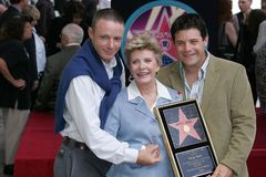 Patty Duke, Sean Astin, Mackenzie Astin Stock Photo